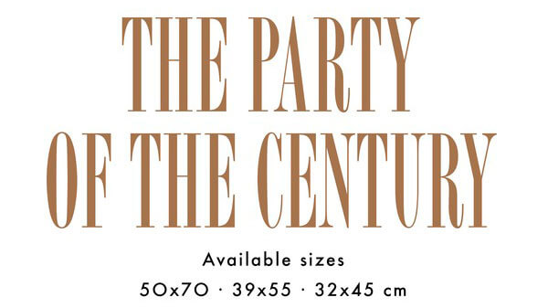 Party Of The Century avalible size | Jordi Labanda